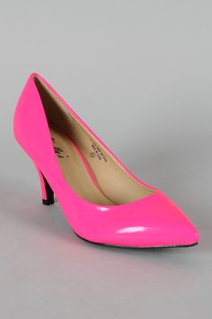 Mostly hooker clothes on this website, but may come in handy to stock the costume closet for our theme parties and/or Halloween. Cheap 80's florescent pumps, $14!!
