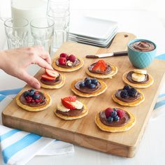 Start a new trend come breakfast time in three easy steps: Mini. Pancake. Appetizers.