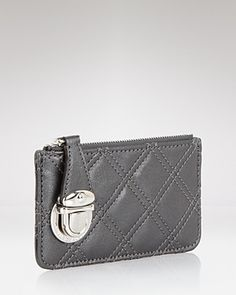 037d46a073a9 Marc Jacobs Key Pouch - Iconic Quilted EDITORIAL - Women s New Arrivals -  Handbags - Bloomingdale s