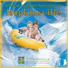 8 Great summer activities in Hopkinsville, Kentucky!