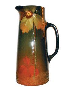 Ohio pottery pitcher - 1905