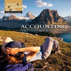 Motivating Accounting Students with Free Test Bank for Accounting Tools For Business Decision Makers 4th Edition By Kimmel which helps students hit the road with a practical set of tools, and the confidence they need to use those tools effectively with its conceptual, decision-making approach. It is too easy to practice with free online accounting textbook test bank questions and instant answers that you can practice at home without any fee for this.