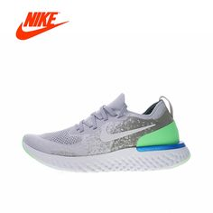 f5d85699a9c Original New Arrival Authentic Nike Epic React Flyknit Men s Breathable Running  Shoes Sport Sneakers Good Quality