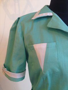 Twin peaks green waitress dress shelly johnson diner by Biantika