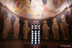 Kariye Parakklesionu: Apsis Duvarında Piskopos Figürleri