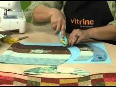 Patchwork com Ana Cosentino: Caminho de Mesa Ondulado (Programa Arte Brasil) - YouTube