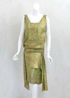 Flapper evening gown