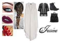 """""""Choice"""" by ludivinehusson3 ❤ liked on Polyvore featuring мода, OTTE, Zizzi, Topshop и OPI"""