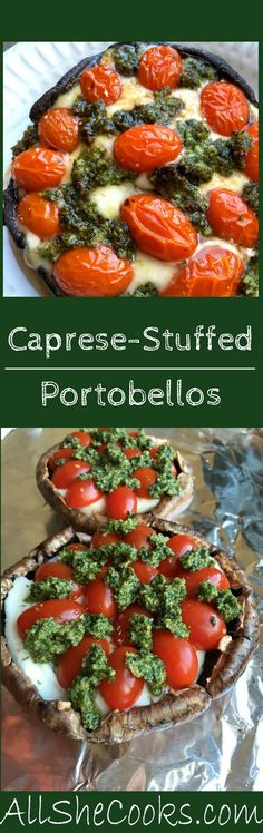 Caprese Stuffed Port