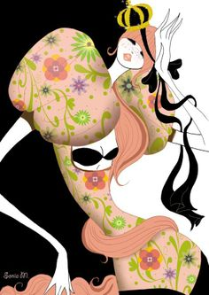 Queens by Sonia Menti, via Behance