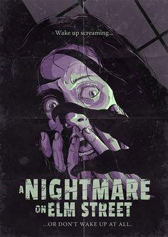 A Nightmare on Elm Street  Tales of Terror by Estevan Silveira https://www.behance.net/gallery/21009659/Tales-of-Terror