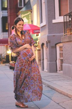 rockstar diaries: Batik dress at 25 weeks. Boho Chic