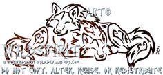 Love And Cuddles Wolf Tattoo by WildSpiritWolf on deviantART