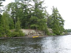 Tent camping in the Boundary Waters <3