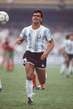World Cup Finals Mexico City Mexico June Argentina 2 v Bulgaria 0 Argentina's Jose Luis Brown Argentina Players, Argentina Football Team, Mexico 86, Mexico City, World Football, Football Soccer, Messi, Fifa, All Star
