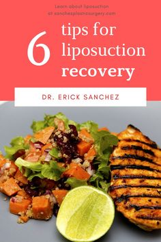 As with any elective surgery, there are specific guidelines to follow during recovery while working closely with your plastic surgeon. Dr. Sanchez and his talented staff will guide each of his Baton Rouge, LA patients throughout the entire process from start to finish. Here are some helpful tips to follow during your liposuction recovery Elective Surgery, Liposuction, Plastic Surgery, Helpful Hints, Recovery, Beef, Tips, Food, Baton Rouge