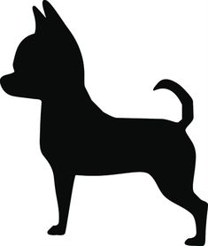 Chihuahua Unfinished Cutout, Wooden Shape, Paintable MDF DIY Craft DIY Craft Wall Decor