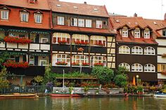 Bamberg germany This is where my mother in law grew up! She would yell across the river to her friends (before phones!)