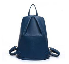 Quatre sac à dos de couleur, sac à dos en cuir, sac à dos, sac à dos de mode, sac de Voyage