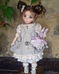 Кетрин - купить или заказать в интернет-магазине на Ярмарке Мастеров - G3F4LRU. Сарагоса   Текстильная кукла _ это не примитив, это душа,…
