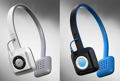 Cord-Free Shuffle Headphones... Might provide a reason to get a shuffle... maybe not...