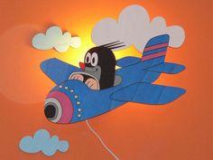 Myyrä ja lentokone -valaisin