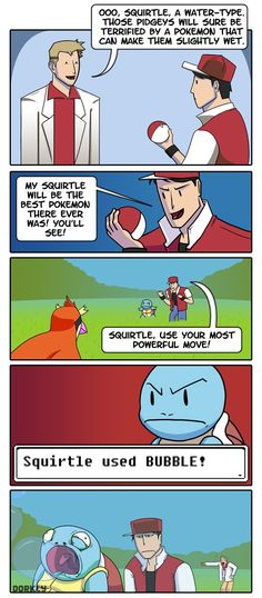 click on it! its a choose your own adventure pokemon thing!