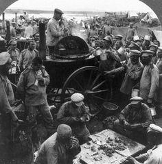 Как кормили русских солдат в царской армии