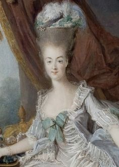 Marie Antoinette, 1775 by Jean-Laurent Mosnier