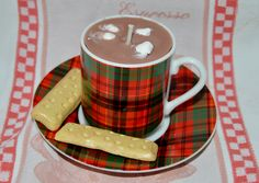 Mini Hot Chocolate Candle with Shortbread