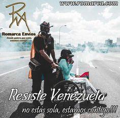 En Romarca Envios ¡Estamos con Venezuela! #Venezolanos #Vene
