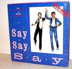 Paul McCartney & Michael Jackson - Say Say Say GER 1983 Maxi near mint