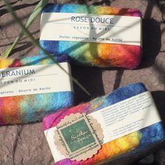 Filzseife-Natural Soap Handumfilzt-Rainbow Organic SOAP Certified natural cosmetics back-fat soap peeling effect vegetable oil soap BDIH Agriculture, Felted Soap, Hamster Eating, Aqua, Organic Soap, Natural Cosmetics, Rainbow, Etsy, Handmade Gifts