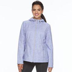 Women's ZeroXposur Lillian Hooded Soft Shell Jacket, Size: Large, Lt Purple
