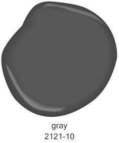 #BenjaminMoore Gray 2121-10