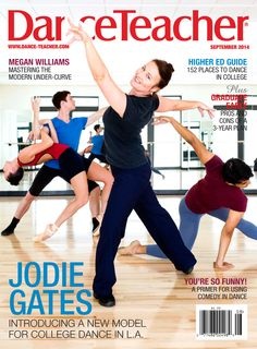 Our September cover features Jodie Gates. Check out our September issue to find out how she's changing the face of college dance at the University of Southern California: http://bit.ly/1tqIG7N  Photo by Joe Toreno
