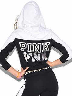 Perfect Full-Zip Hoodie PINK SF-348-742 (DZ8) | Victoria' Secret ...