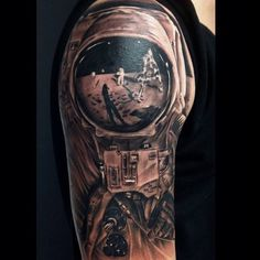 Was This Moon Landing Tattoo Faked?