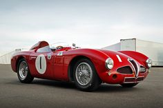 1953 Alfa Romeo Disco Volante 3000 Maintenance/restoration of old/vintage vehicles: the material for new cogs/casters/gears/pads could be cast polyamide which I (Cast polyamide) can produce. My contact: tatjana.alic@windowslive.com