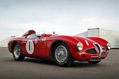 1953 Alfa Romeo 3000 Disco Volante No.1 - 2012 Silverstone Classic - Dave Rook