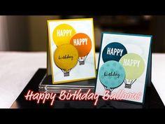 Happy Birthday Balloons - Giggles Creative Corner