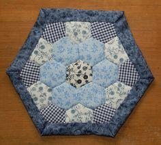 Brodeuse Bressane - Bee Quilt - hexagone 21