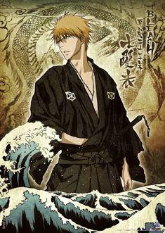 Sugoi!!! Kakoii!!! Ichigo in true Japanese essence! I looooovvvee this!!! #Bleach