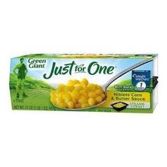 I'm learning all about Green Giant Just for One® at @Influenster!