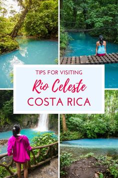 Our guide to visiting the magical sky blue river in Costa Rica: Rio Celeste. Find out everything you need to know about visiting: http://mytanfeet.com/activities/tips-visiting-rio-celeste/