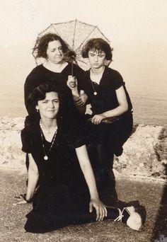 Señoritas en la playa. Años 20.