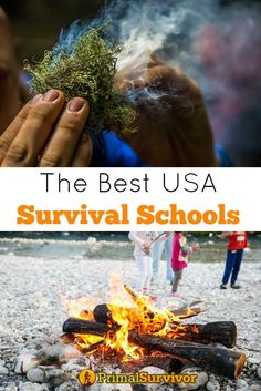 List of the Best Survival Schools in the USA. One of the best investments I ever spent was enrolling in a 3-day survival school course with my family. Not only did we get to learn a lot of new skills while enjoying breathtaking nature, but we also met a lot of like-minded people. Some of them went on to become good friends