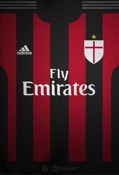 Milan Wallpaper, Soccer Kits, Ac Milan, Wallpapers, Soccer, World, Sports, Football Kits, Wallpaper