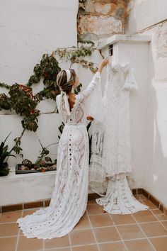 For the Boho-Lovin' Bride: Officially Quigley in our Lovers Society x GWS Wedding Dresses Boho Wedding Dress, Wedding Bride, Bridal Dresses, Dream Wedding, Wedding Shot, Wedding Lace, Forest Wedding, Woodland Wedding, Wedding Reception