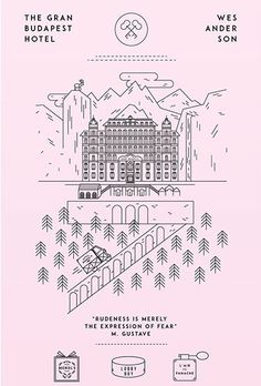 The Grand Budapest Hotel - movie poster - Tete Garcia